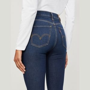 NWT Levi's Mile High Super Skinny Jeans Size 30